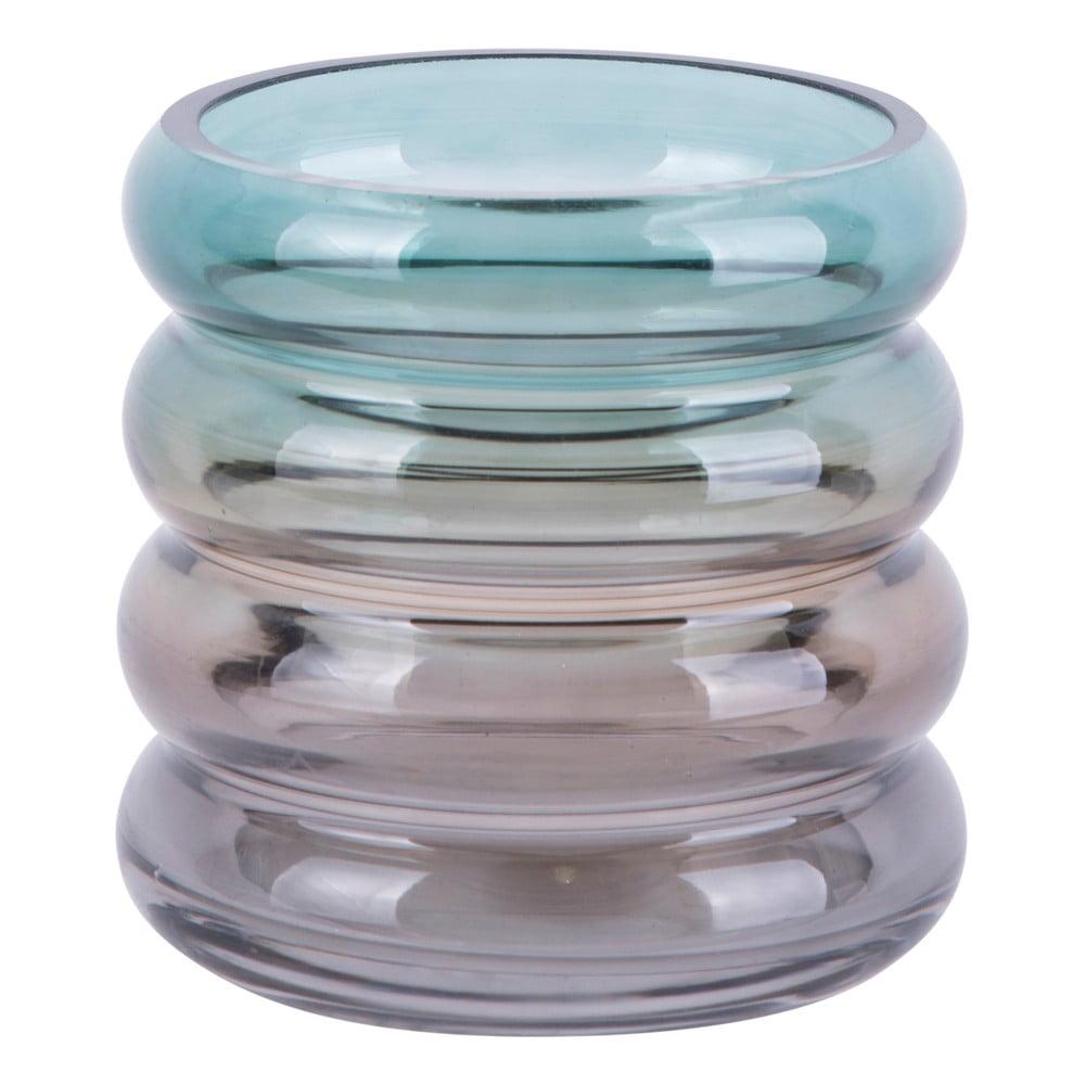 Skleněná malá váza PT Living Rings, výška 12,5 cm