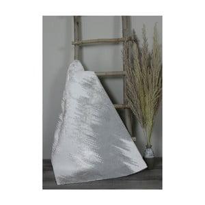 Světle šedá bavlněná koupelnová předložka My Home Plus Sensation, 70 x 130 cm