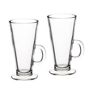 Dva skleněné hrnky na latte Kitchen Craft Le'Xpress, 325 ml
