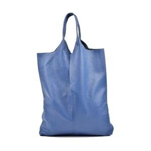Modrá kožená kabelka Isabella Rhea Pemlio