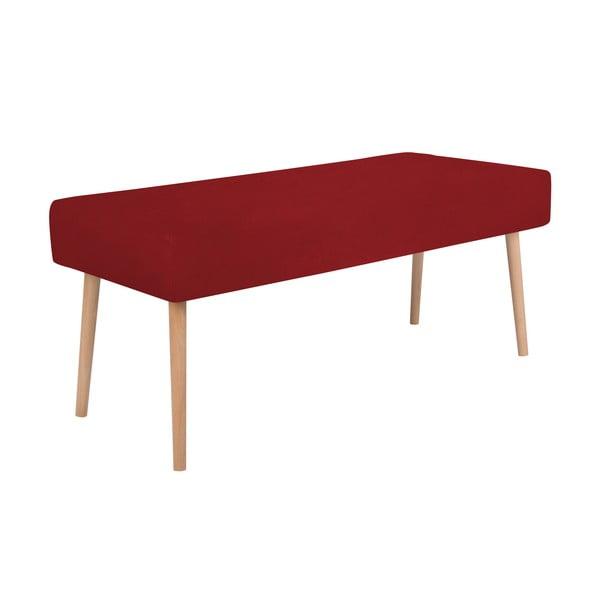 Červená lavica Mazzini Sofas Bergamot