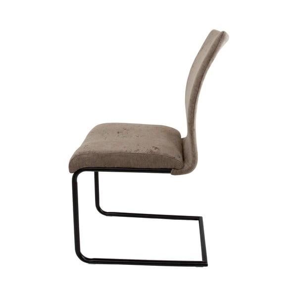 Světle hnědá jídelní židle Canett Clipper