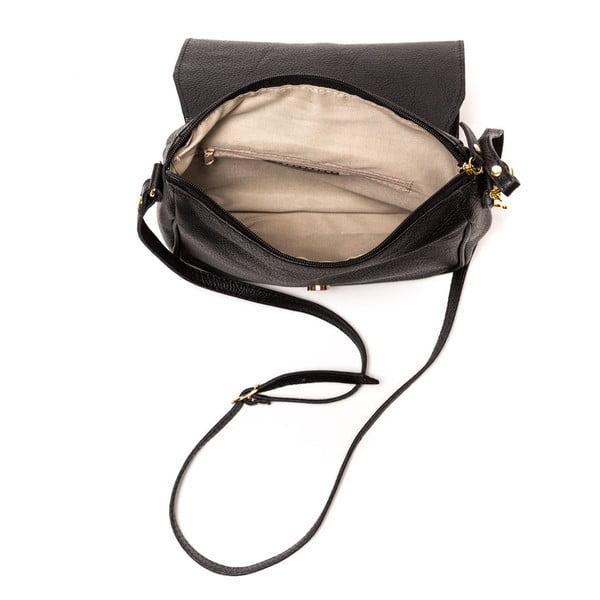Kožená kabelka Italia 1100 Black