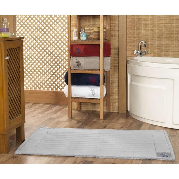 Koupelnová předložka U.S. Polo Assn. Grey, 70x120 cm