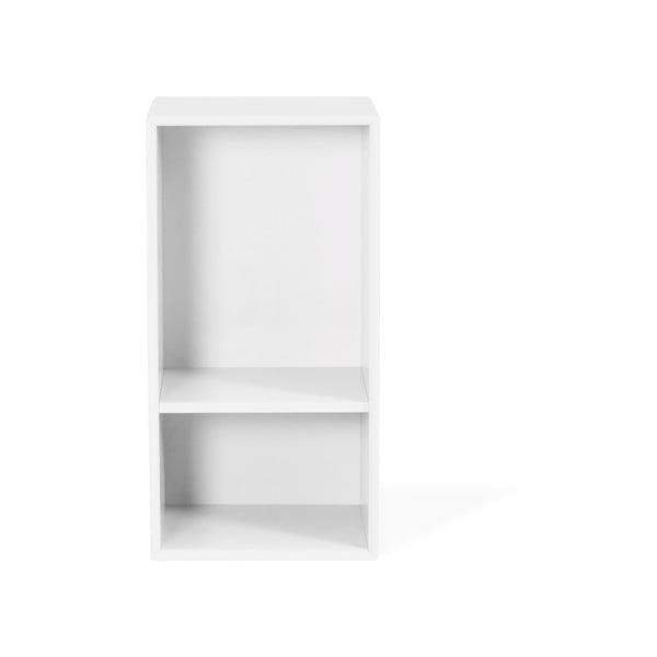 Biela polica Tenzo Z Halfcube, 36 x 70 cm