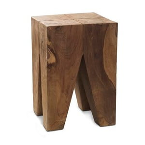 Dřevěná taburetka Carre