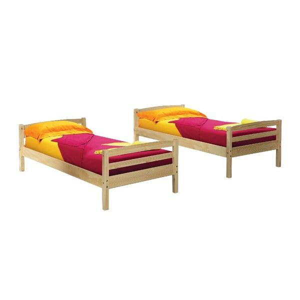 Dřevěná rozložitelná patrová postel 13Casa Ricky, 90x190cm