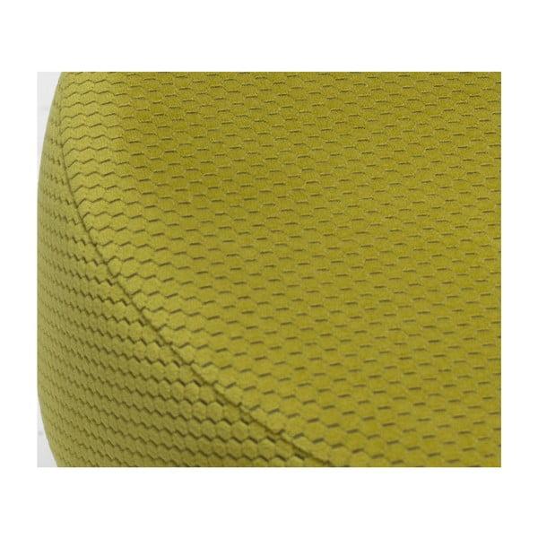 Hořčicově žlutá podnožka Balcab Home Nela
