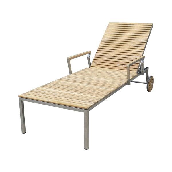 Leżak ogrodowy z metalową konstrukcją ADDU Denver
