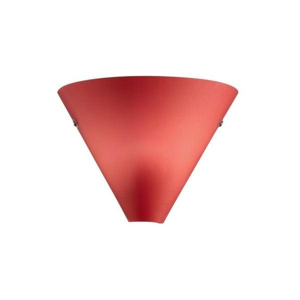 Nástěnné světlo Coctail Rosso, 20x17 cm
