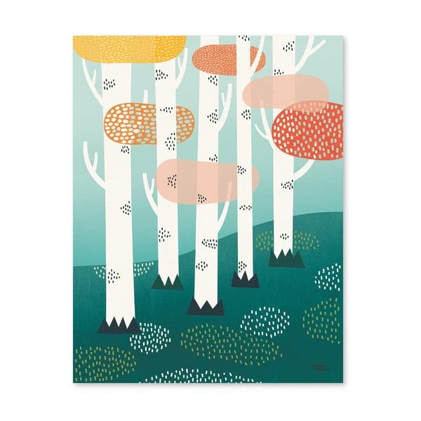 Plakát Michelle Carlslund Forest, 30x40cm