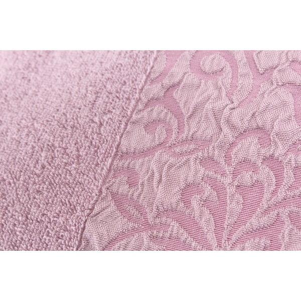 Sada 2 ručníků Burumcuk Dusty Rose, 50x90 cm