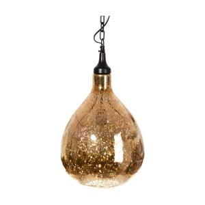 Stropní světlo Pear Gold, 27x46 cm