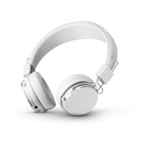 Bílá bezdrátová Bluetooth sluchátka s mikrofonem Urbanears PLATTAN II BT True White