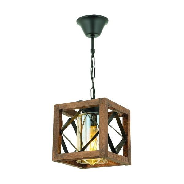 Závesné svietidlo z hrabového dreva Zikzak Camlı