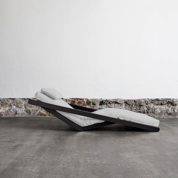 Variabilní lenoška Karup Figo Wenge/Light Grey