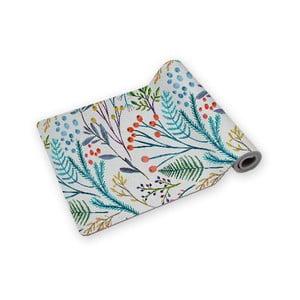 Podložka na jógu Surdic Yoga Mat Flores Vintage s motivem květů, 60 x 185 cm