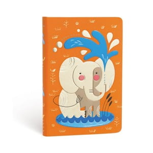 Carnețel cu copertă tare Paperblanks Elephant, 9,5 x 14 cm