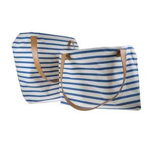 Set dvou plátěných tašek Blue Print