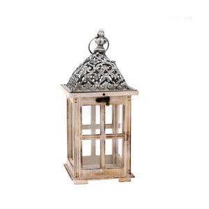 Dřevěná lucerna Dakls Merozzo