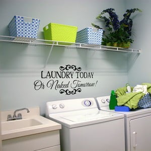Samolepka Sticker Laundry Today