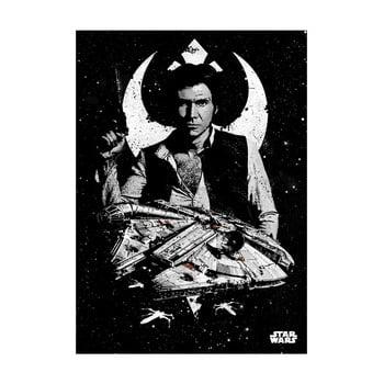 Poster Star Wars Pilots – Captain Solo