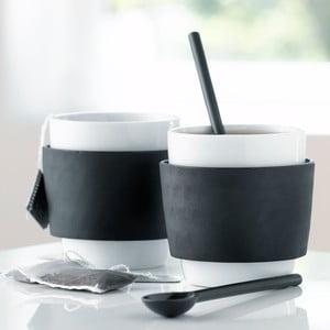 Sada 2 šálků na čaj Steel Function Milano, 250 ml