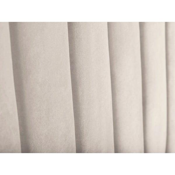 Krémově bílé čelo postele Cosmopolitan Design Los Angeles, šířka 200cm