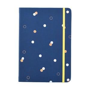 Modrý zápisník o formátu A5 Busy B, 96 stran
