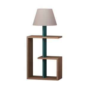 Tyrkysová volně stojící lampa Homitis Saly