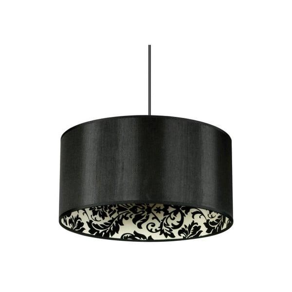 Černé stropní svítidlo Saparato Nero