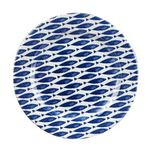 Farfurie Churchill China Fishie Blue, 30 cm
