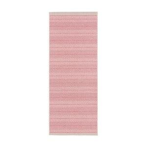 Růžový běhoun vhodný i na ven Bougari Runna, 70x200cm