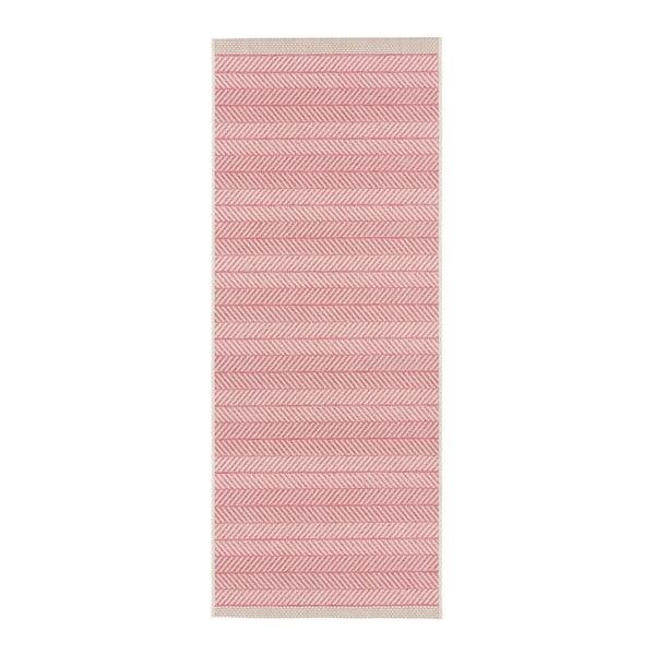 Różowy chodnik odpowiedni na zewnątrz bougari Runna, 70x140cm