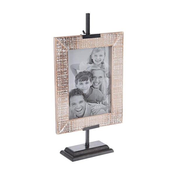 Fotorámeček Wooden Beige, 13x18 cm