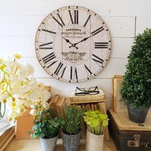 Nástěnné hodiny Orchidea Fabrique