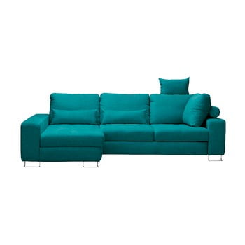 Canapea colţar Windsor & Co Sofas Alpha, partea stângă, turcoaz de la Windsor & Co Sofas