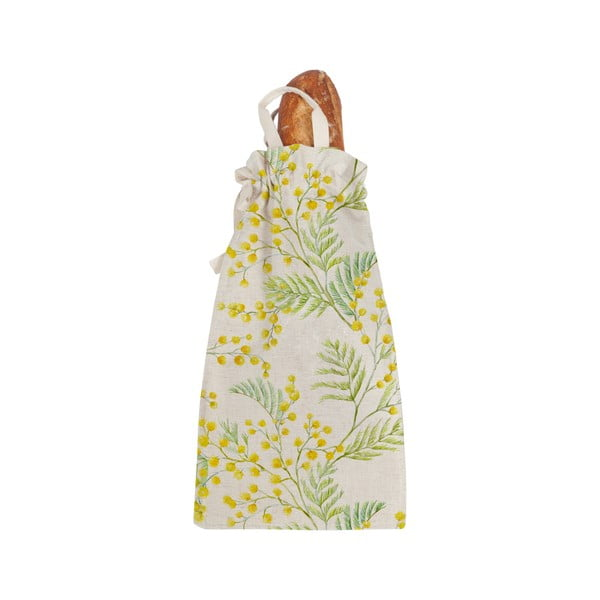 Bread Bag Mimosa szövet pékárutartó - Linen Couture