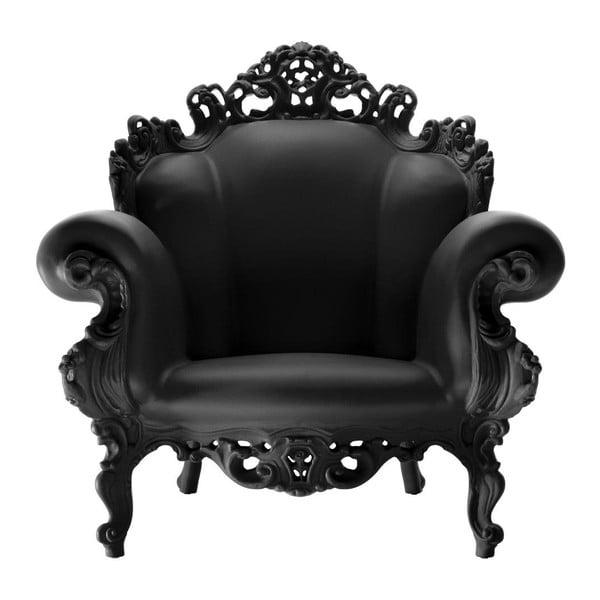 Czarny fotel Magis Proust