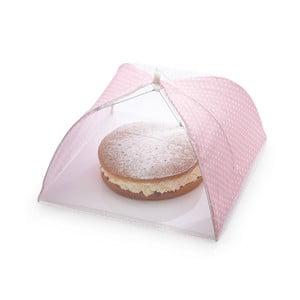 Poklop na dorty a koláče Kitchen Craft Sweetly Does It Pink, 41 cm