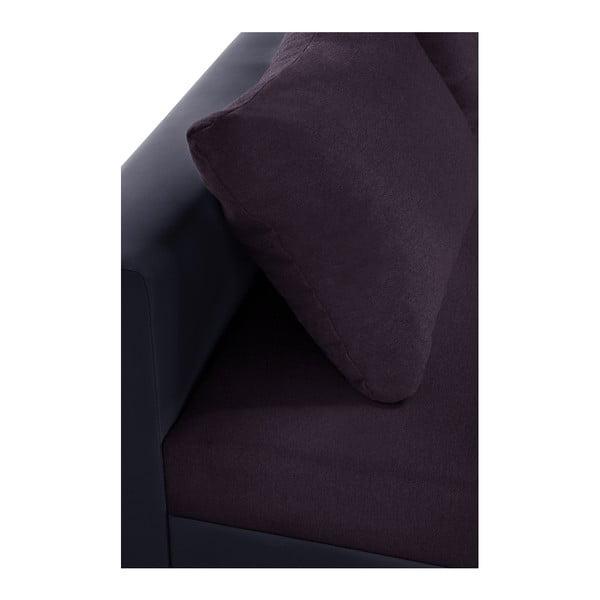 Colțar cu pat pe partea stângă Interieur De Famille Paris Aventure, mov