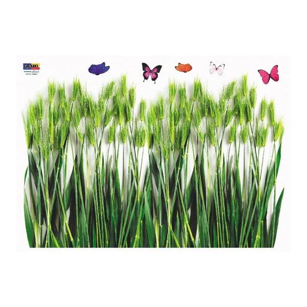 Samolepka Ambiance Green Barley Field