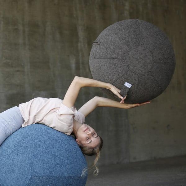Antracitový sedací míč VLUV, 75 cm