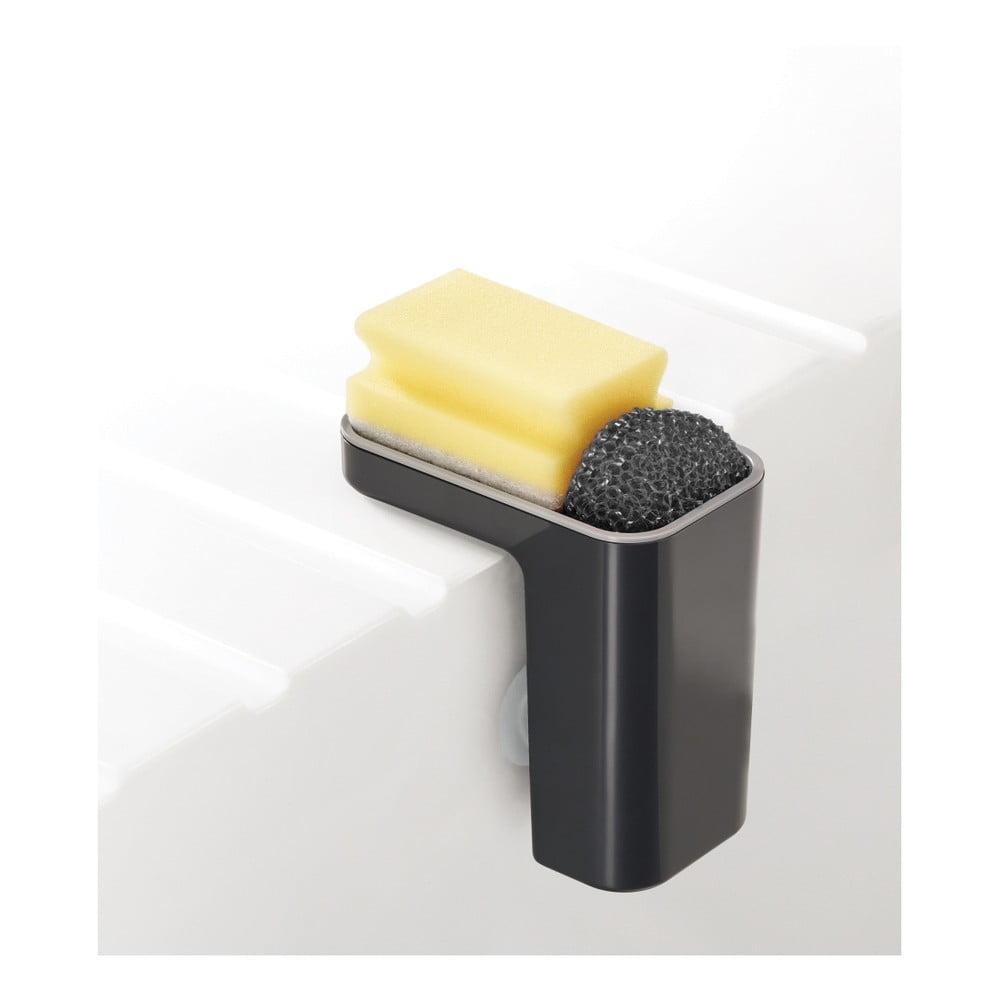 Šedý stojánek na mycí prostředky Joseph Joseph Caddy SinkPod