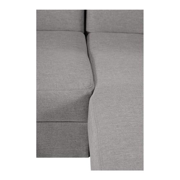 Canapea cu șezlong partea dreaptă Interieur De Famille Paris Bijou, crem
