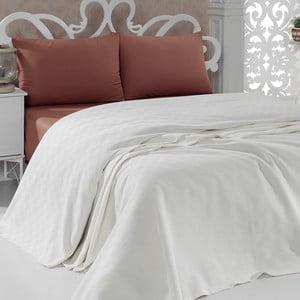Přehoz přes postel Pique Cream, 200x240 cm