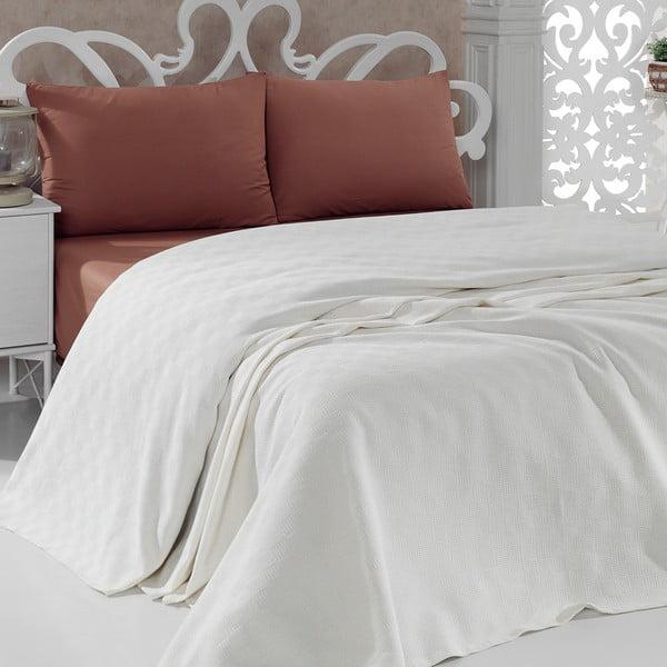 Cuvertură Pique Cream, 200x240 cm