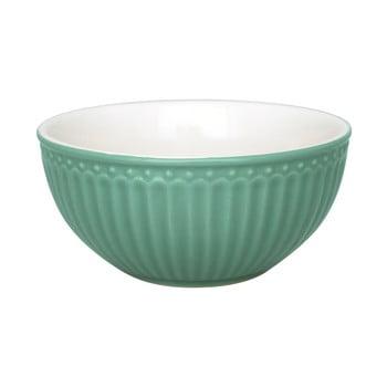 Bol din ceramică Green Gate Alice, ø 14 cm, verde închis de la Green Gate