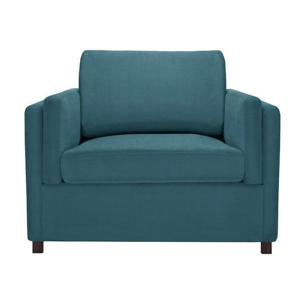 Niebieski fotel Corinne Cobson Lipstick