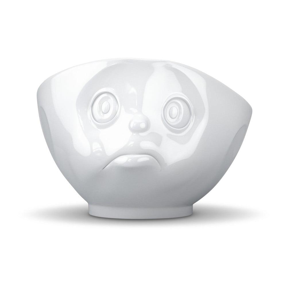 Bílá rozmrzelá miska 58products